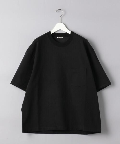 <AURALEE(オーラリー)> スタンドアップ Tシャツ■■■