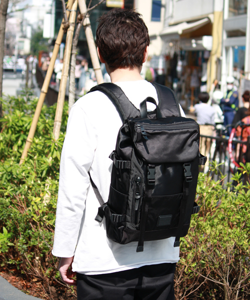 LIMITED EXCLUSIVE DOUBLE BELT DAYPACK ZONE MIX