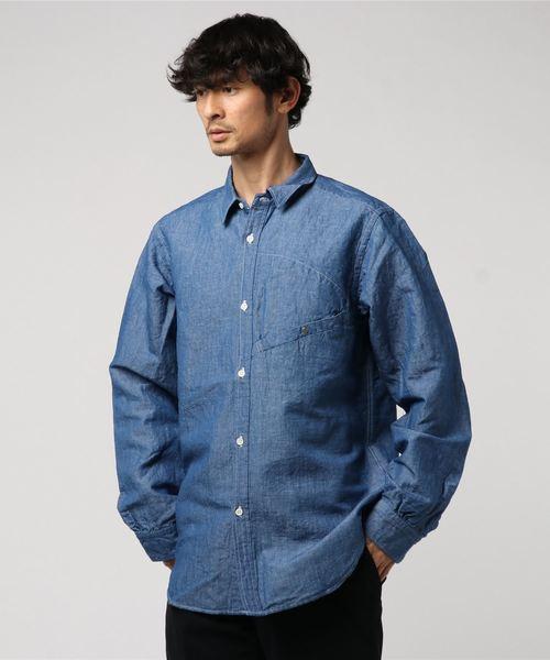 海外ブランド  【セール】C SHIRTS SHAMBRAY/L SHAMBRAY UTILITY SHIRTS シャンブレーユーティリティシャツ(シャツ/ブラウス) UTILITY GYPSY&SONS(ジプシーアンドサンズ)のファッション通販, glassliving奏:7413920f --- ruspast.com