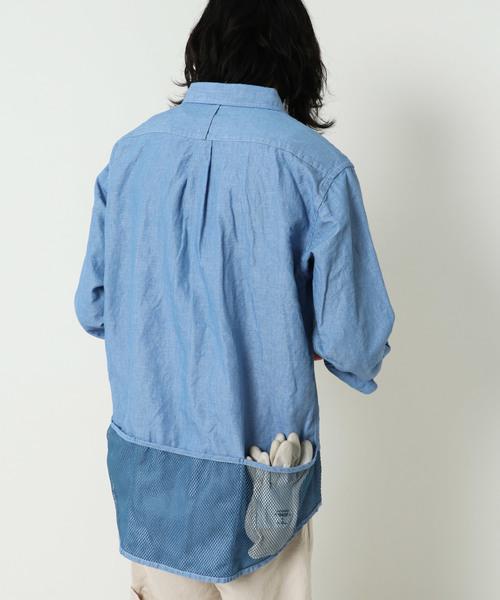 即日発送 【セール】C/L SHAMBRAY UTILITY UTILITY SHIRTS シャンブレーユーティリティシャツ(シャツ/ブラウス) SHIRTS|GYPSY&SONS(ジプシーアンドサンズ)のファッション通販, 宝石時計メガネ 中村:6d7e7060 --- ruspast.com