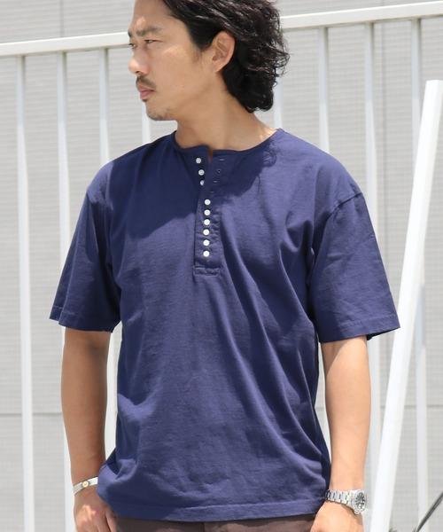 ROOPTOKYO(ループトウキョウ)の「TOWNCRAFT/タウンクラフト 10B SS TEE(Tシャツ/カットソー)」|ネイビー