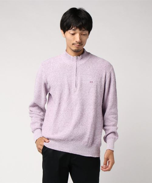 2019年春の 【セール】杢ハーフジップニット(ニット/セーター) McGREGOR(マックレガー)のファッション通販, イチノセキシ:b63e5ed9 --- steuergraefe.de
