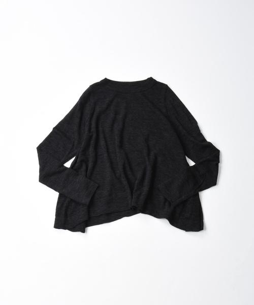 【在庫あり/即出荷可】 ウールガーゼ天竺のニットソーフレアーTシャツ(ニット/セーター)|45R(フォーティファイブアール)のファッション通販, セブンマルイ質店:2643ae30 --- 5613dcaibao.eu.org