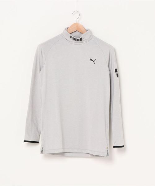 PUMA プーマ ゴルフ ウォーム モックネック ポロシャツ