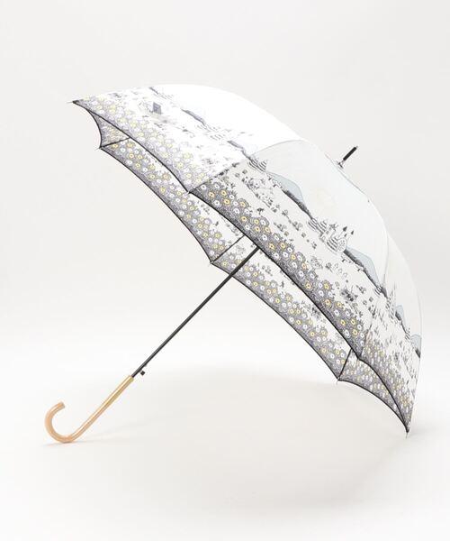 【 MOOMIN / ムーミン 】60㎝傘 長傘 ジャンプ式 雨晴兼用長傘 OGW