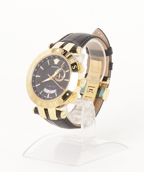 6c7f8e159c VERSACE(ヴェルサーチ)の「VERSACE V-RACE GMT ALARM レディース 腕時計(腕時計
