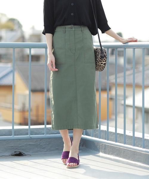ストレッチベイカータイトスカート