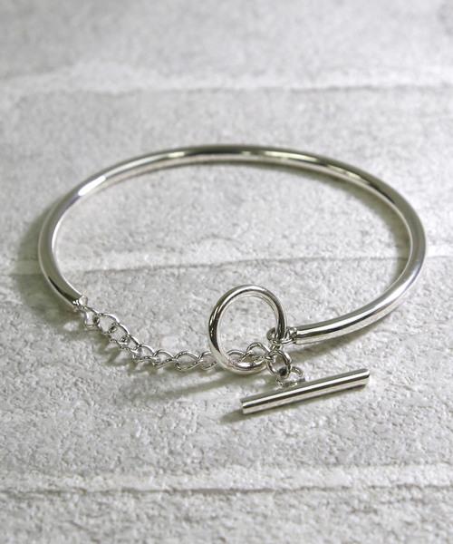 【YArKA/ヤーカ】silver925 close type bangle[tojir]/チェーン閉式バングル シルバー925