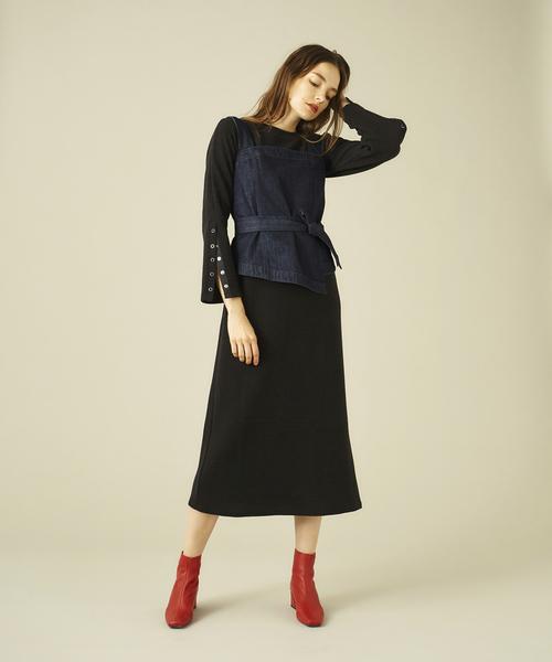 【在庫あり/即出荷可】 ワッフル袖スリットワンピース(ワンピース)|COEL(コエル)のファッション通販, Select Shop Undo:30450d02 --- 5613dcaibao.eu.org