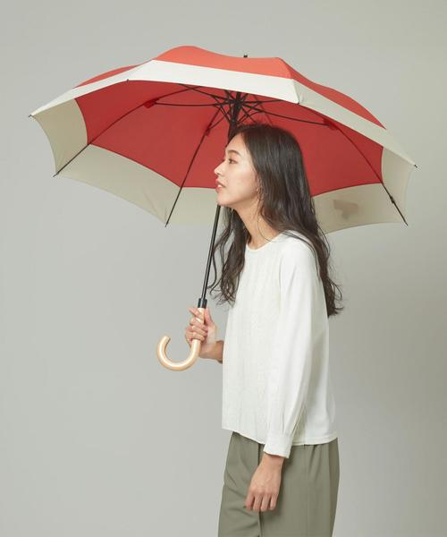 <U-DAY> バイカラーJUMP 長傘