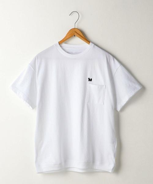 【1M】ドライジャージーソリッドリブTシャツ