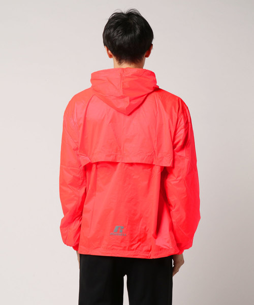 RUSSELL ATHLETIC PACKABLE ANORAK