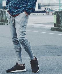 CHORD NUMBER EIGHT(コードナンバーエイト)のZIP SWEAT PANTS(パンツ)