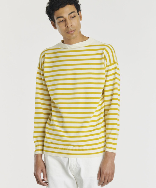 【Le Tricoteur】コットンガンジーセーター ST MEN