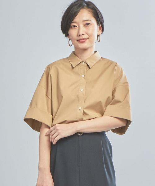 【WORK TRIP OUTFITS】★WTO BC ワイドスリーブシャツ《UVカット》