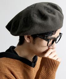 WEGO(ウィゴー)のWEGO/プリントビッグベレー帽(ハンチング/ベレー帽)