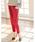 Re:EDIT(リエディ)の「ストレッチ美脚テーパードパンツ(パンツ)」|ボルドー