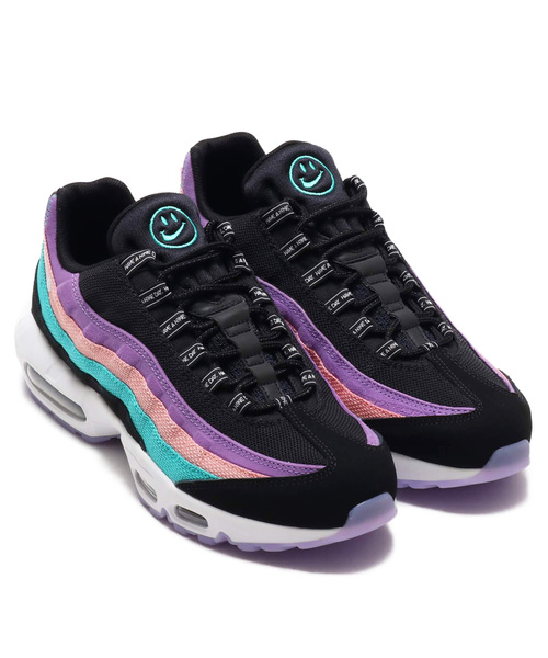 NIKE AIR MAX 95 ND (BLACK/WHITE-HYPER JADE-BLEACHED CORAL) EXCLUSIVE【SP】