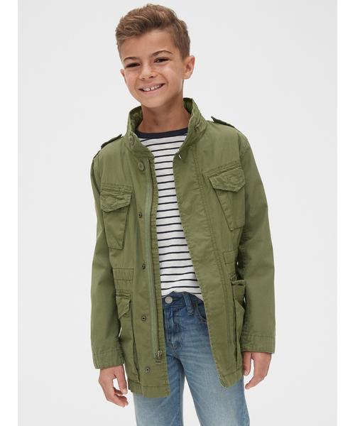 フード付きフィールドジャケット