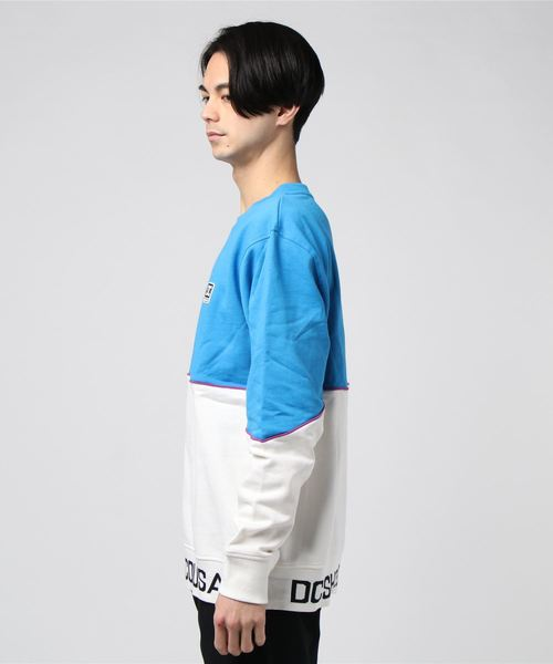 DC SHOES GLYNROAD CREW (Snow White)