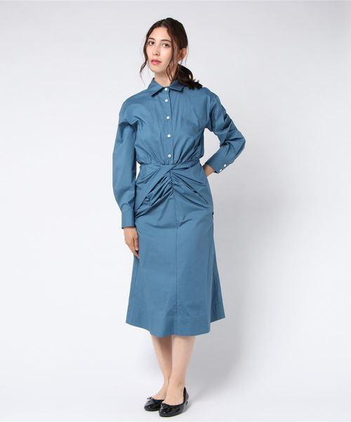 新しいスタイル 【セール】SEA NEW Twisted YORK/シーニューヨーク Capri Shirt Twisted Shirt Dress(ワンピース)(ワンピース) STORE|FREAK
