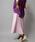 Munich(ミューニック)の「ポリエステルツイルプリーツロングスカート(スカート)」|詳細画像