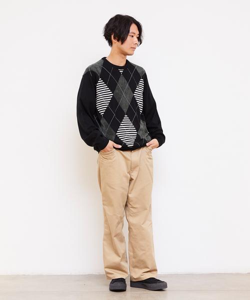 【即発送可能】 Argyle Neck Crew Neck Knit Sweater(ニット Crew/セーター) Knit|FRED PERRY(フレッドペリー)のファッション通販, 厚岸町:e8e35ce6 --- steuergraefe.de