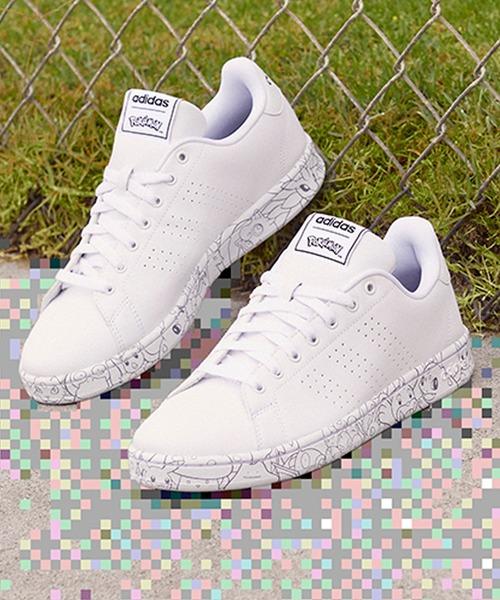 adidas(アディダス)の「アドバンテージ ポケモン [Advantage POKEMON] アディダス(スニーカー)」|ホワイト