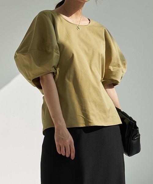 【chuclla】Puff sleeve blouse sb-5 chw1148