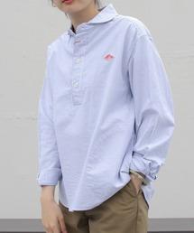 DANTON/ダントン オックスプルオーバーシャツプレイド OX PULLOVER SHIRT PLAID JD-3564TRD(ウィメンズ)ネイビー