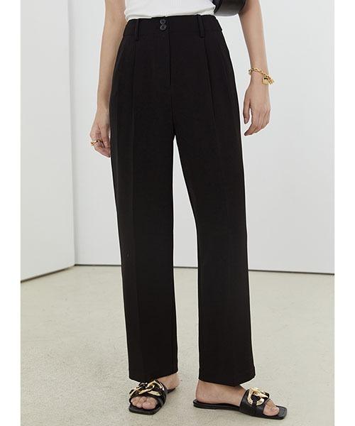 【Fano Studios】【2021SS】Cropped straight slacks pants FX21K028
