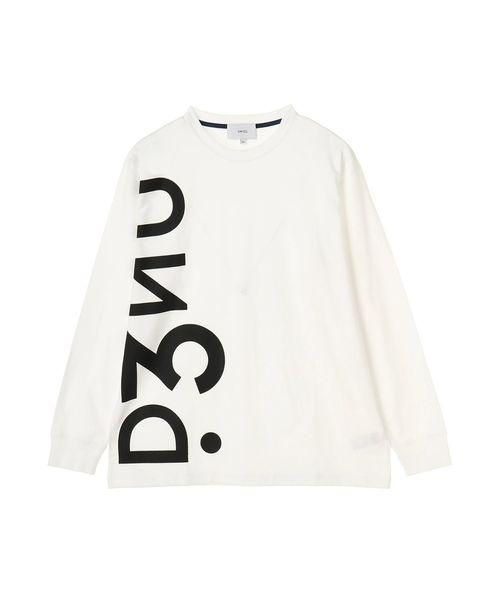 UN3D.(アンスリード)の「UN3D. LONG T(Tシャツ/カットソー)」|ホワイト