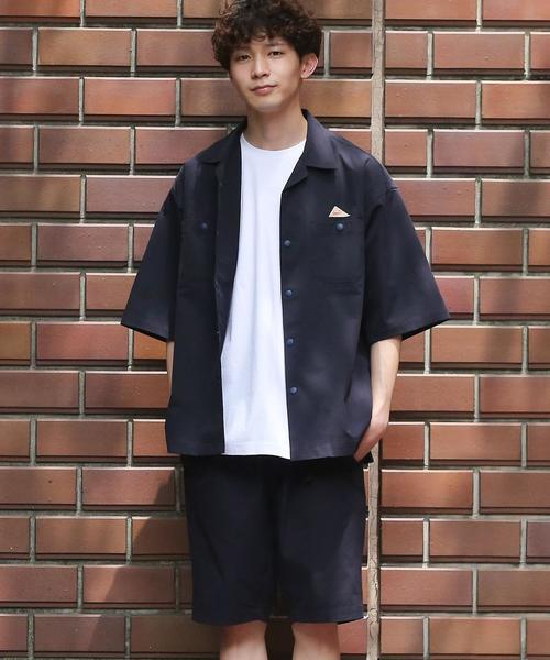 【WEB限定】KELTY(ケルティ)別注サマーセットアップ(オープンカラーシャツ+ショーツセット)#