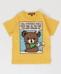 CALL DEAD BEAR Tシャツ【XS/S/M】イエロー