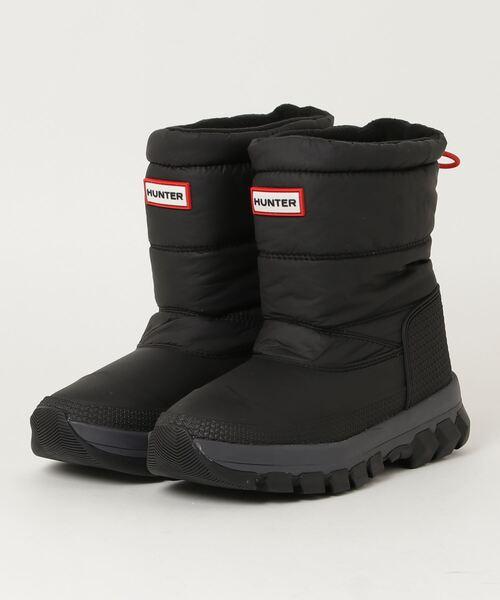 HUNTER(ハンター)の「【HUNTER】W ORIGINAL INSULATED SNOW BOOT SHORT(ブーツ)」|ブラック