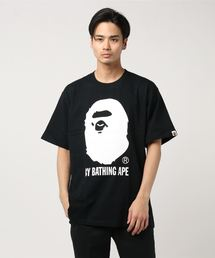 A BATHING APE(アベイシングエイプ)のBICOLOR BY BATHING TEE M(Tシャツ/カットソー)