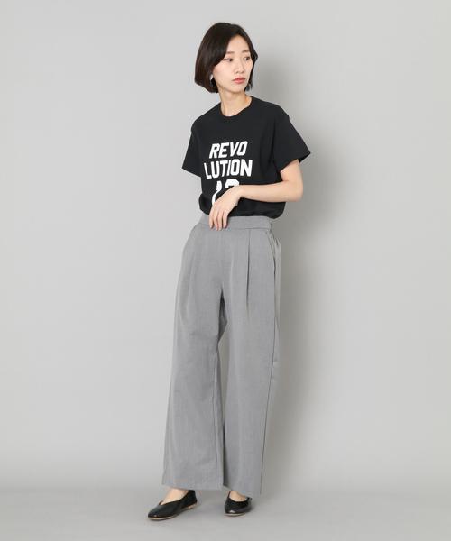 REVOLUTIONTシャツ(5分袖)