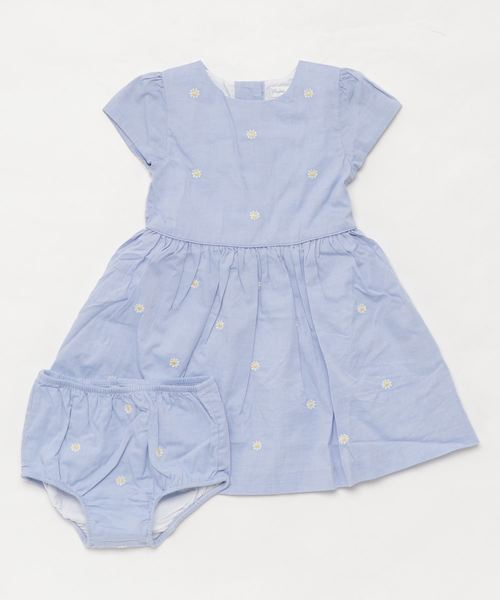 フローラル フィット&フレア ドレス