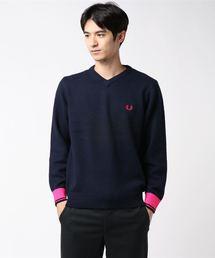 FRED PERRY(フレッドペリー)のV Neck Sweater(ニット/セーター)