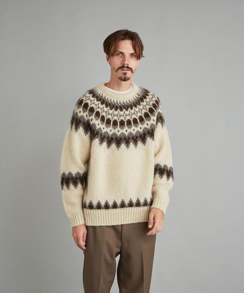 注文割引 <BATONER> NORDIC MOHAIR NORDIC MOHAIR KNIT STEVEN/ニット(ニット/セーター)|Steven Alan(スティーブンアラン)のファッション通販, 日の出工芸社:b21b1ba6 --- kredo24.ru