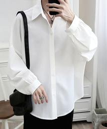 KOR(ケーオーアール)のスーパーオーバーサイズ 長袖シャツ(シャツ/ブラウス)