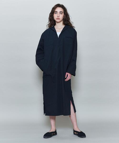 <6(ROKU)>SAILOR COLLAR SHIRT DRESS/ワンピース