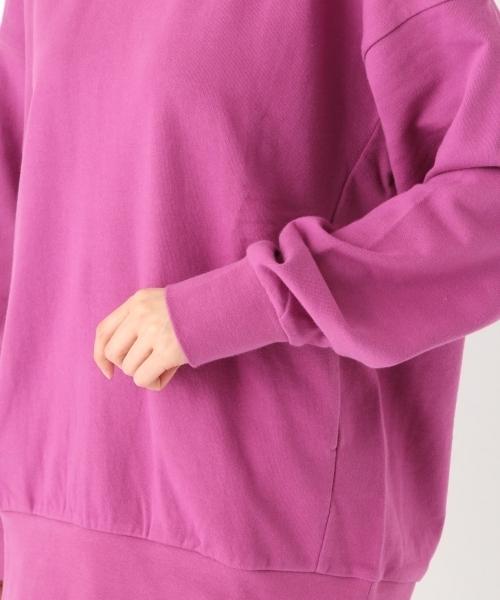 オリジナルコットン裏毛ポケット付きビッグプルオーバー【niko and ...】