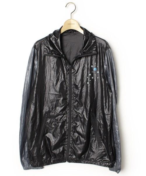 24883aa38792 DIESEL(ディーゼル)の古着「プリントブルゾン(ブルゾン)」|ブラック