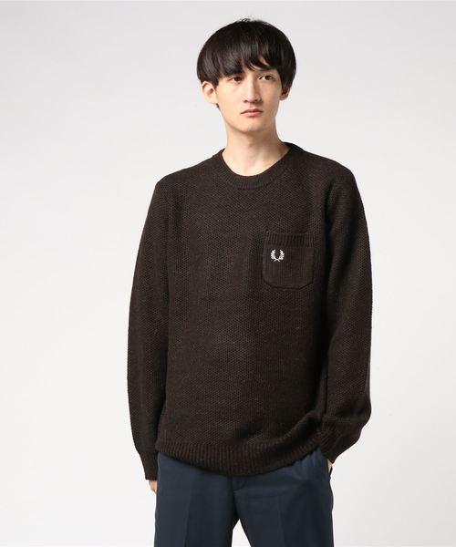 【2018?新作】 Pique Knit Sweater(ニット Knit/セーター)|FRED FRED PERRY(フレッドペリー)のファッション通販, ハッピーコレクション:e0ba0c2f --- svarogday.com