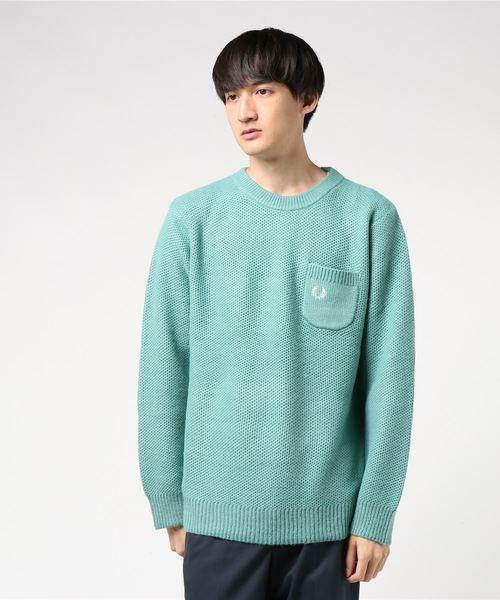 一番人気物 Pique FRED Knit Knit Sweater(ニット/セーター) FRED PERRY(フレッドペリー)のファッション通販, 北陸のきもの問屋 越前屋:f57b1beb --- svarogday.com