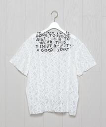 <MM6 Maison Martin Margiela>LACE AIDS T-SHIRT/Tシャツ.
