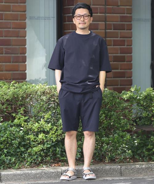 【WEB限定】KELTY(ケルティ)別注サマーセットアップ(クルーネックTシャツ+ショーツセット)#