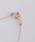 NOIR DE POUPEE(ノワールドプーペ)の「K10レイヤー モチーフ ゴールド ネックレス(ネックレス)」|詳細画像