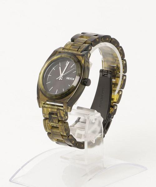 【代引き不可】 THE ACETATE MEDIUM TIME TIME TELLER NA1214333-00 ACETATE NA1214333-00 OLIVE(腕時計)|NIXON(ニクソン)のファッション通販, プロスオンライン:248ecf19 --- pyme.pe